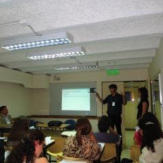 Noviembre: Prof. Ingrid Núñez y Lucas Araya exponiendo en Congreso Internacional de Español en Buenos Aires, Argentina